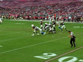 Watch: Watch Jarrad Davis sack Josh Rosen for a 7-yard loss | True View