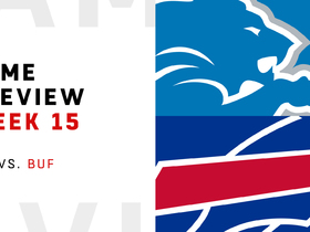 Watch: Lions vs. Bills preview | Week 15
