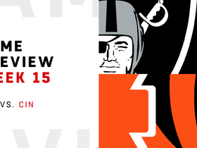Watch: Raiders vs. Bengals preview | Week 15