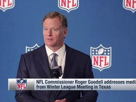 Watch: Roger Goodell addresses media from Winter League Meeting