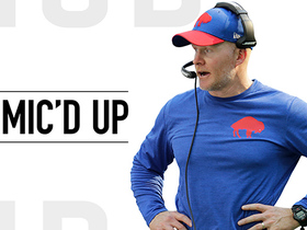 Watch: Mic'd Up: McDermott mentors Josh Allen | Week 14