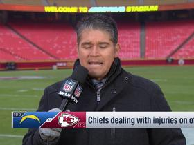 Watch: Ruiz reveals one Tony Gonzalez record Kelce could break vs. Chargers on 'TNF'
