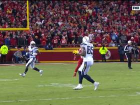 Watch: Rivers lofts it to Gates on corner route for 22 yards