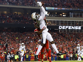 Watch: Mike Williams gets major air on jump-ball TD over Steven Nelson
