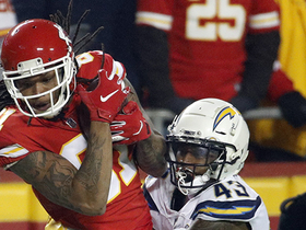 Watch: Kelvin Benjamin's first catch as a Chiefs goes for 17 yards