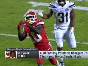 Watch: Fantasy fallout from Chargers-Chiefs on 'TNF' | NFL Fantasy Live