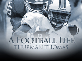 Watch: 'A Football Life': Thurman Thomas joins the Dolphins to get back at the Bills