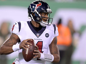 Watch: Deshaun Watson dashes outside for 24-yard scramble