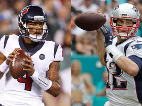 Watch: Will Texans or Patriots win AFC's second seed?