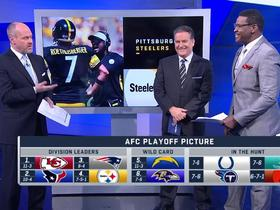 Watch: Mariucci: If the Steelers lose vs. Patriots they'll miss the playoffs