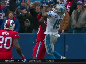 Watch: Golladay makes incredible adjustment on deep grab over White