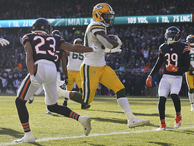 Watch: Jamaal Williams weaves through red zone for 10-yard TD