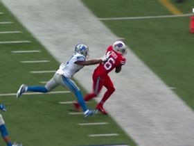 Watch: Allen drops in 31-yard dime to Foster down the sideline