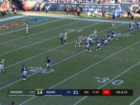 Watch: Cohen can't be caught on 44-yard punt return
