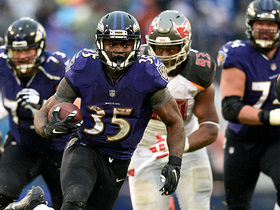 Watch: Gus Edwards' 26-yard run seals Ravens win