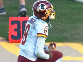 Watch: Josh Johnson rejoices after Redskins hit game-winning FG