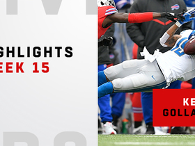 Watch: Kenny Golladay's craziest catches vs. Bills | Week 15