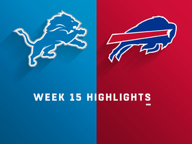 Watch: Lions vs. Bills highlights | Week 15