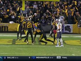 Watch: Steelers stop Brady on fourth down to secure big win