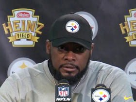 Watch: Tomlin shouts out James Washington, Jaylen Samuels in postgame presser