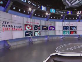 Watch: Updated look at AFC playoff picture after Sunday's Week 15 games