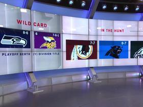 Watch: Updated look at NFC playoff picture after Sunday's Week 15 games