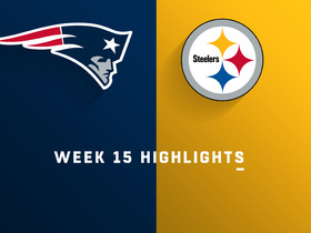 Watch: Patriots vs. Steelers highlights | Week 15