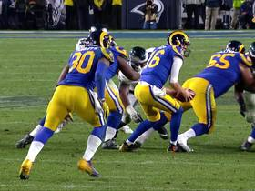 Watch: Can't-Miss Play: Goff's mishandled snap goes horribly wrong