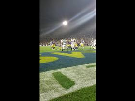 Watch: End zone view of Wendell Smallwood TD