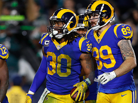 Watch: Todd Gurley makes it a one-possession game with TD run