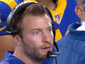 Watch: McVay can't believe Rams' crucial punt-return gaffe