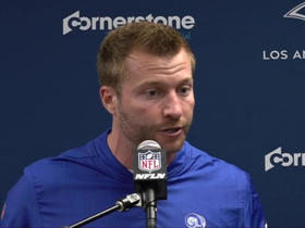 Watch: Sean McVay: 'We've got to find a way to get better in a hurry'