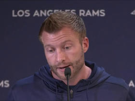Watch: McVay on turnovers: We've got to take better care of the football