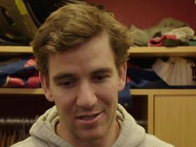 Watch: Eli on Shurmur: 'Coach has had my back all year'
