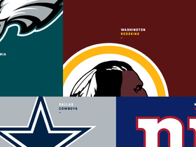 Watch: How the NFC East could shake out over the final weeks