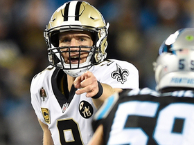 Watch: Go inside Drew Brees' helmet as he reads the Panthers' D | True View