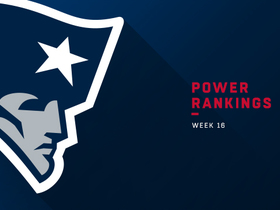 Watch: Patriots fall two spots to No. 6 in Week 16 | Power Rankings