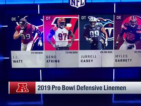Watch: AFC and NFC Pro Bowl defensive linemen are revealed for 2019