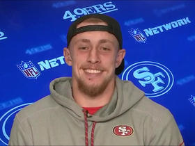 Watch: George Kittle meets one of his childhood heroes in Brian Urlacher