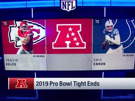 Watch: AFC and NFC Pro Bowl TEs are revealed for 2019