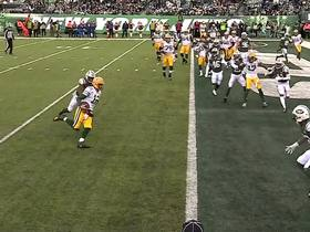 Watch: Rodgers uses his legs for key 1-yard TD