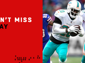 Watch: Can't-Miss Play: Reshad Jones jumps Josh Allen's throw for pick-six