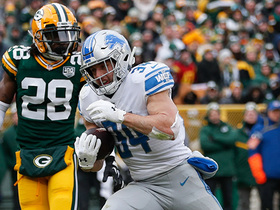 Watch: Zach Zenner bursts straight through Packers' D on 13-yard TD