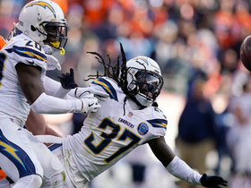 Watch: Chargers' interception return devolves into chaos