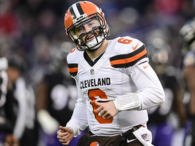 Watch: Baker Mayfield sets rookie TD pass record