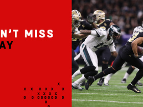 Watch: Can't-Miss Play: Foles' pass goes through Jeffery's hands for Lattimore INT