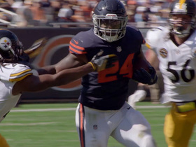 Watch: The art of the stiff arm | NFL Films Presents