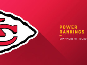 Watch: Chiefs remain at No. 3 in Championship Sunday | NFL Power Rankings