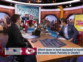 Watch: Burleson: The Patriots are better equipped to handle the arctic blast in Kansas City