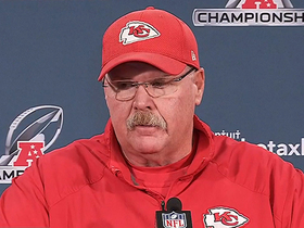 Watch: Andy Reid on Tom Brady: 'I haven't seen any decline'